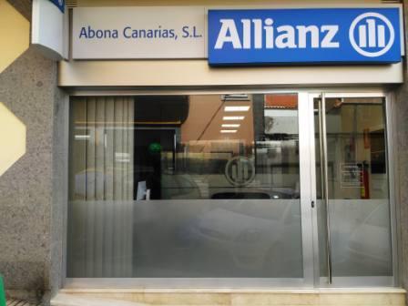 puerta entrada de seguridad alianz